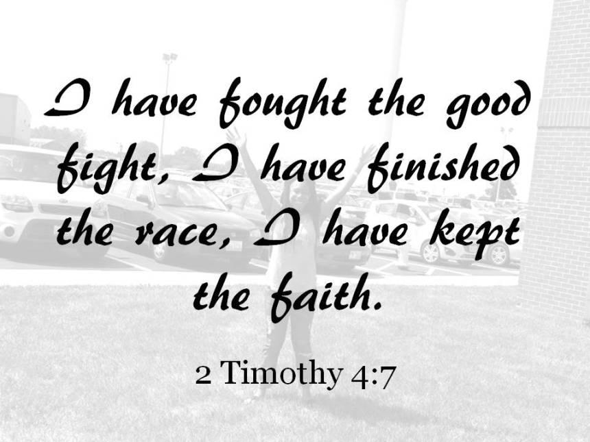 2 Tim 4 7