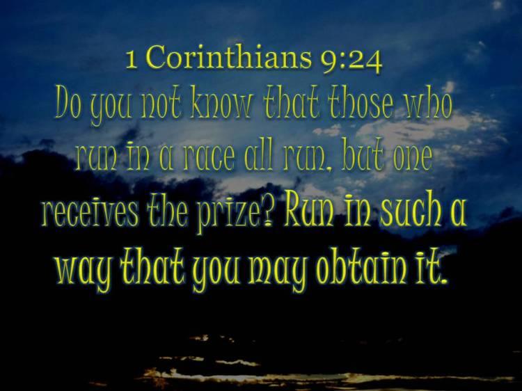 I Cor 9 24
