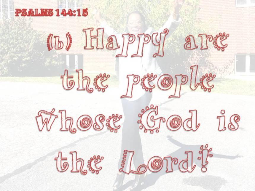 Psalm 144 15