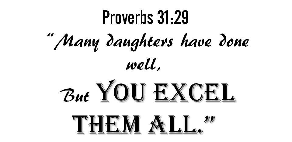 Prov 31 29