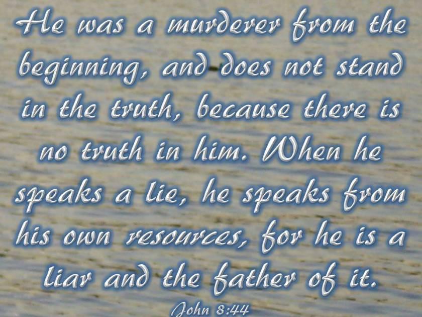 John 8 44