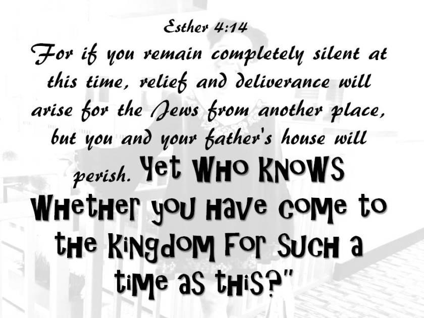 Esther 4 14