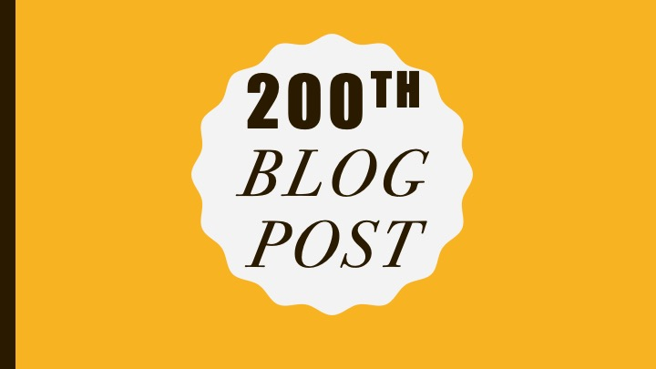 200 blog post